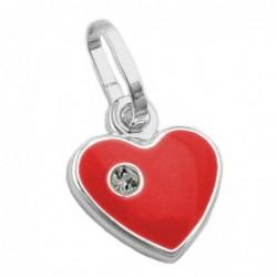 Anhänger 9mm Herz rot...