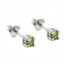 Stecker 3mm Glasstein oliv...