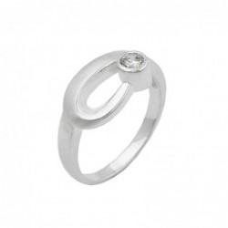 Ring, 9mm, Zirkonia...