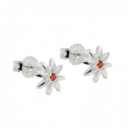 Stecker 6mm Blume glänzend...