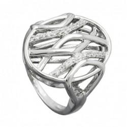 Ring, mit vielen Zirkonias,...