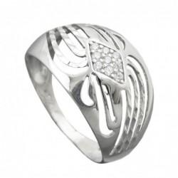 Ring, mit Zirkonias, Silber...