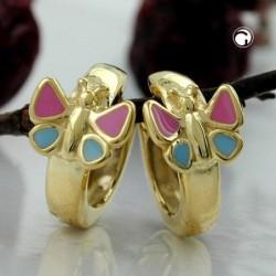 Creole, Schmetterling 9Kt GOLD