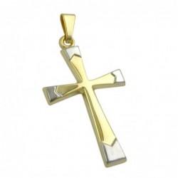Anhänger, Kreuz bicolor,...