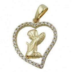 Anhänger Engel im Herz...