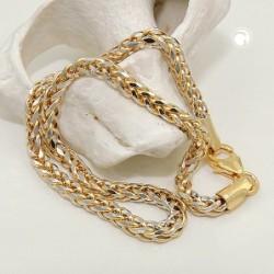 Collier, Zopfkette, 14Kt GOLD