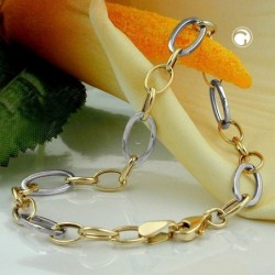 Armband, Ankerkette oval,...