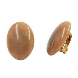 Clip Ohrring 25x18mm oval...