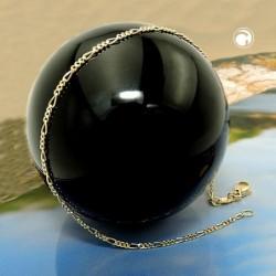 Armband 19cm Figaro diam....