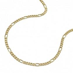 Kette, Figarokette, 9Kt GOLD