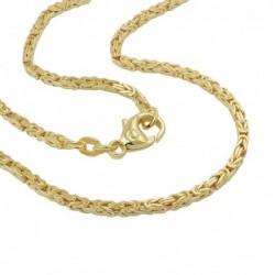 Armband Königskette 2x2mm...