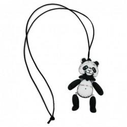 Kette, Panda, schwarz-weiß...