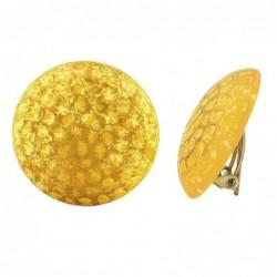 Clip 30mm gelb-goldfarben...
